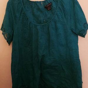 Calvin Klein Jean's short sleeved Blouse
